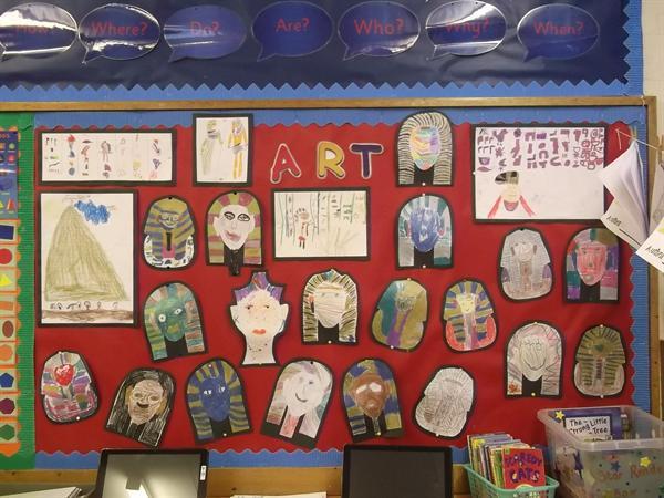Year 2 Topic display