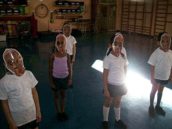 We perform dances.