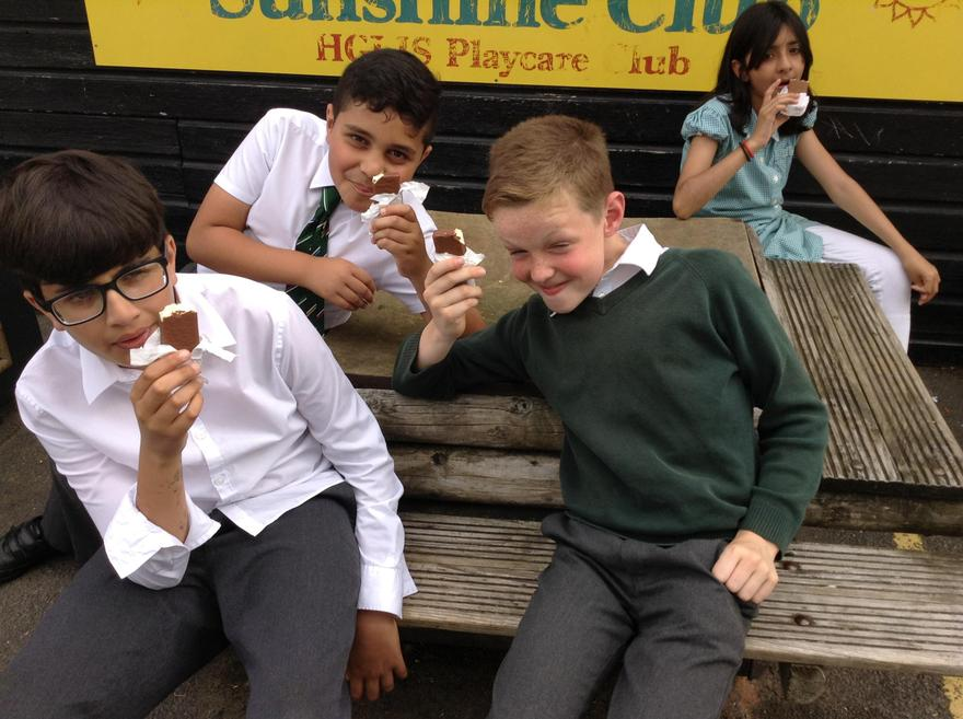 We all love our creamy choc ices.