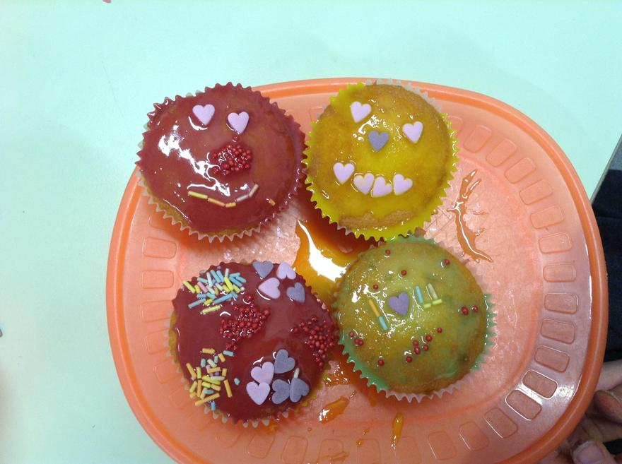 Look at my beautiful cakes!