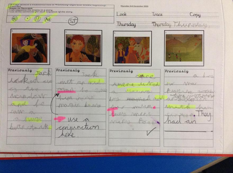 Aleem, each week your English work is getting better!