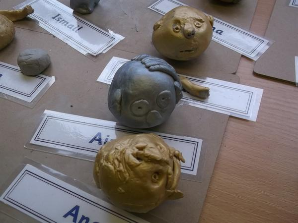 Wonderful clay sculptures
