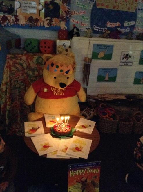 Time for Winnie's birthday party!