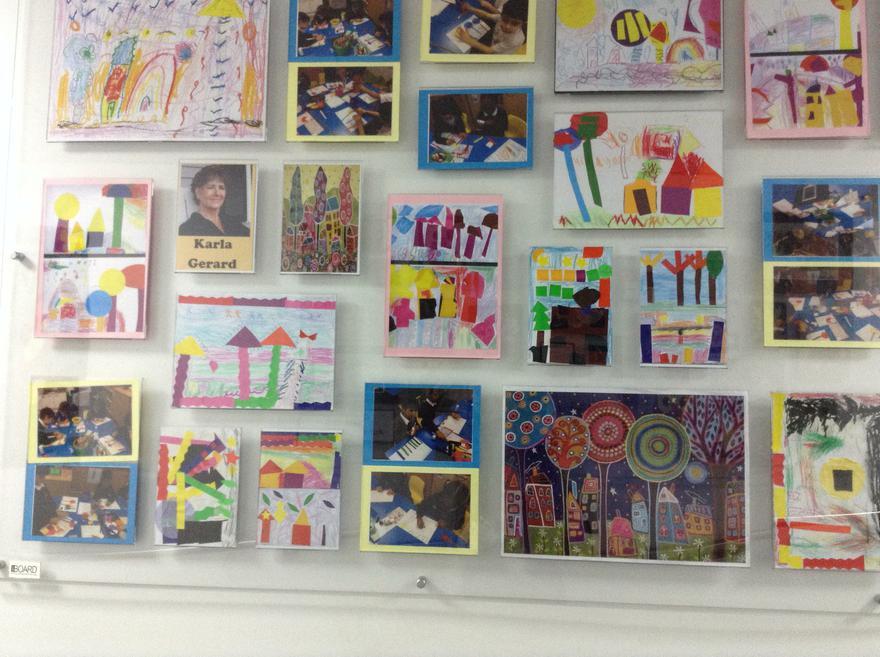 Yr art display