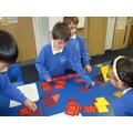Using Roman numerals