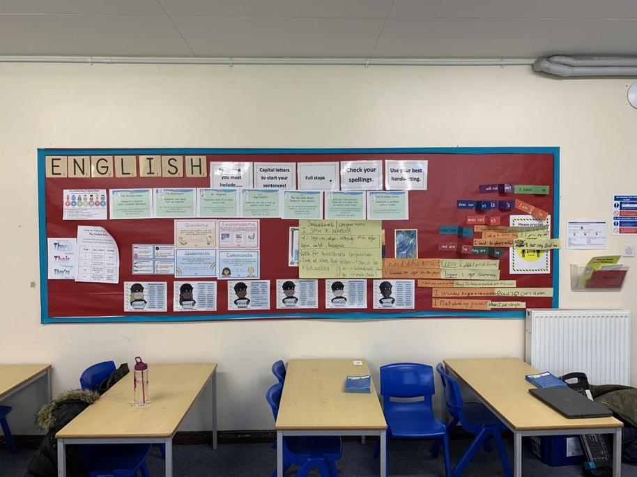4LG English Working Wall