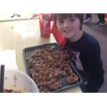 Year 3 made Rocky Road - delicious!