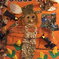 Our Scarecrow, birds and hedgehogs