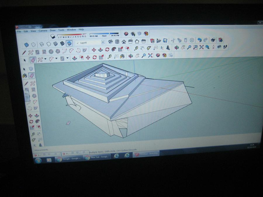 Learning to be architects to create a virtual spac