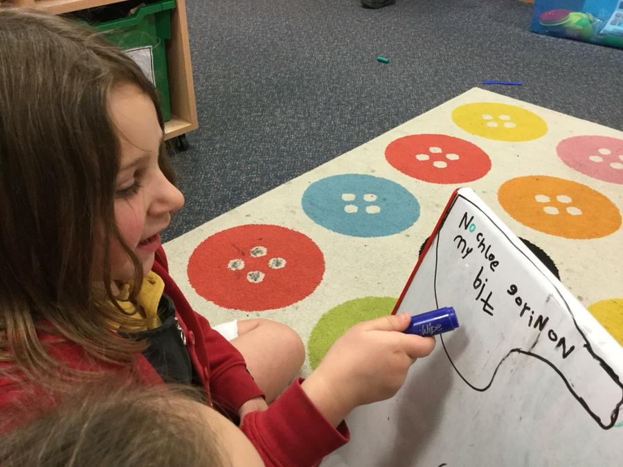 Writing - Using our phonics indpendently