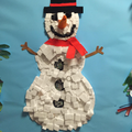 Our snowman collage