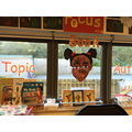 Topic, Book and Author displays