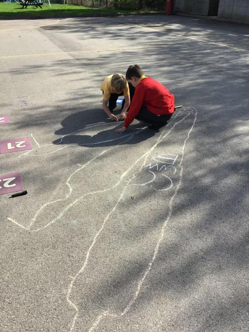 Investigating shadows throughout the day.