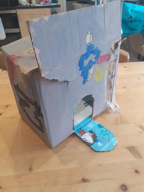 Making a castle for Knights, by Harley K
