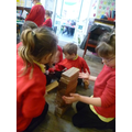 We used different types of blocks