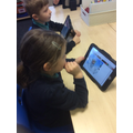 Using the ipad to show what we know about Zeus