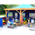 Nursery and Reception Outdoor Play area