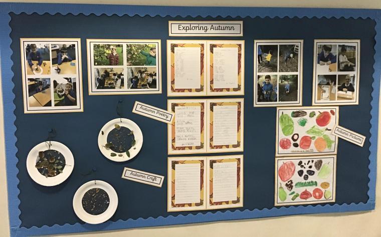 Autumn class display