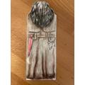Hagrid Bookmark back