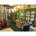 Our literacy and writing wall