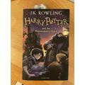 Hagrid Bookmark in a book