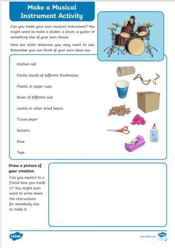Make a musical instrument
