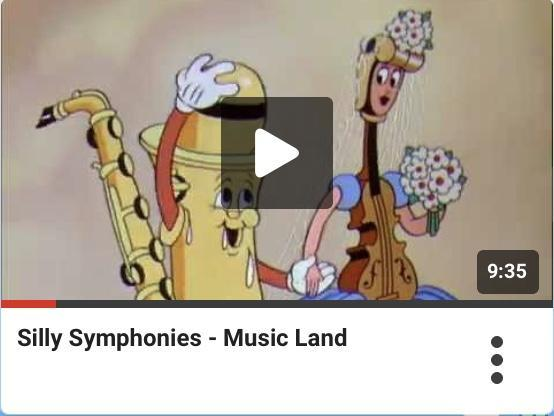 Any of the Silly Symphonies are fun to listen to.