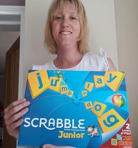 Mrs Hambidge's game - Scrabble