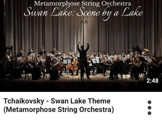 Tchaikovsky - Swan Lake Theme