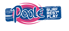 Link to Poole Tourism Website with the slogan Surfe, Rest and Play