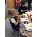 making play dough numbers