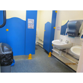 The toilets