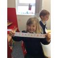 practising their numbers