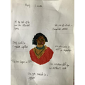 Owen's brilliant Mary Seacole poster!