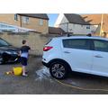 Keeping key workers cars clean!