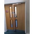 Y1  Classroom Door - Inside