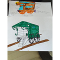 Isaac has designed his own bathing machine