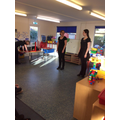 We had a visit from a tap dance teacher...