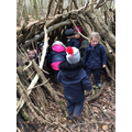 Exploring dens.