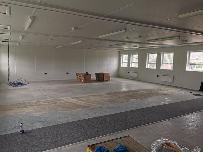 FS temporary classroom