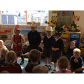 Telling the story of the little red hen