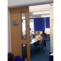 Y2 Classroom Door - Inside