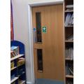 Y2 - Cloakroom Door - Inside