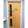 Y4/Y5 Cloakroom door