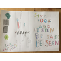 Alex's road safety poster