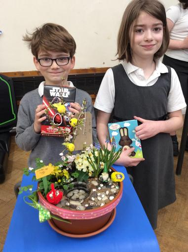 Family Winners - Bethan and Adam