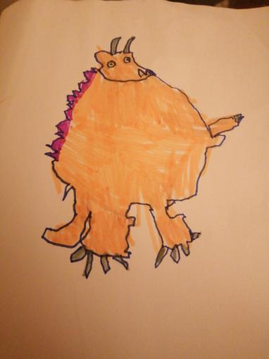Freddie's Eliza's Gruffalo