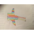 Rosie's colourful seagull