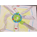 A carefully drawn map by Rehan.