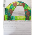 Rehan's favourite bedroom is a colourful tent.